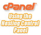 Using cPanel Control Panel