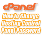Change cPanel password