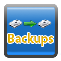 Hosting with site backups