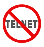 Why can I not telnet into my server